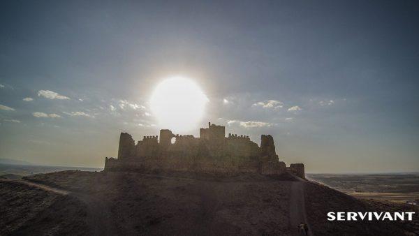 Puesta de Sol en Castillo de Almonacid